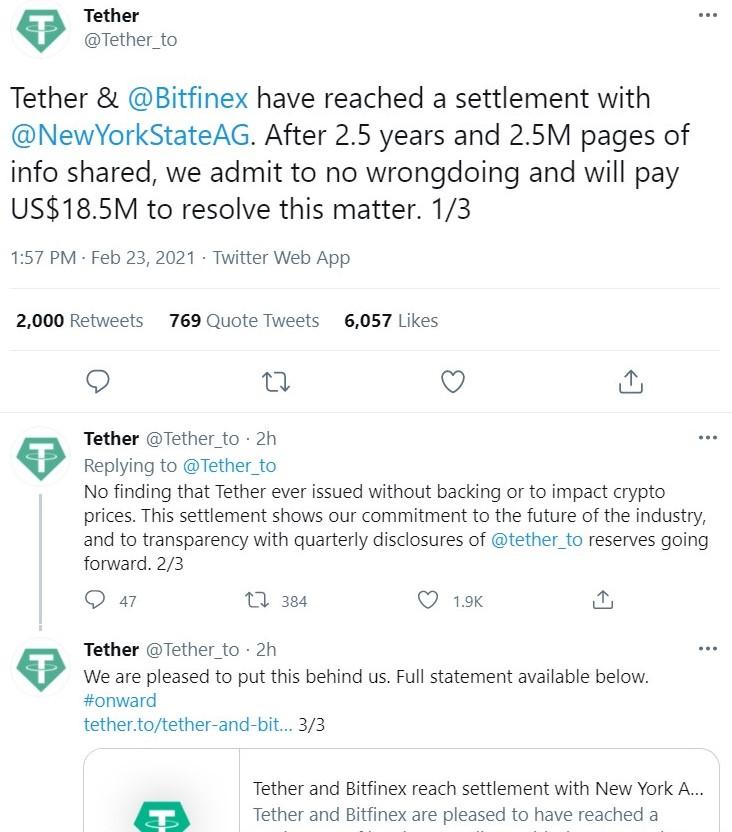 tether op twitter