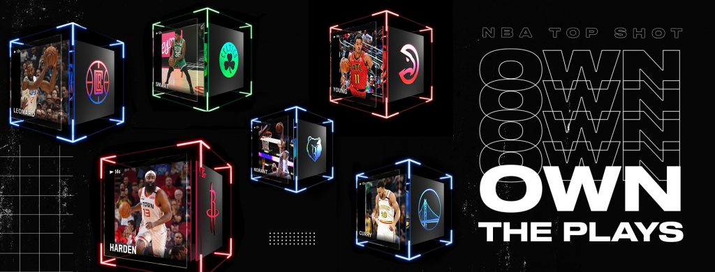 NBA Top Shot NFT blockchain