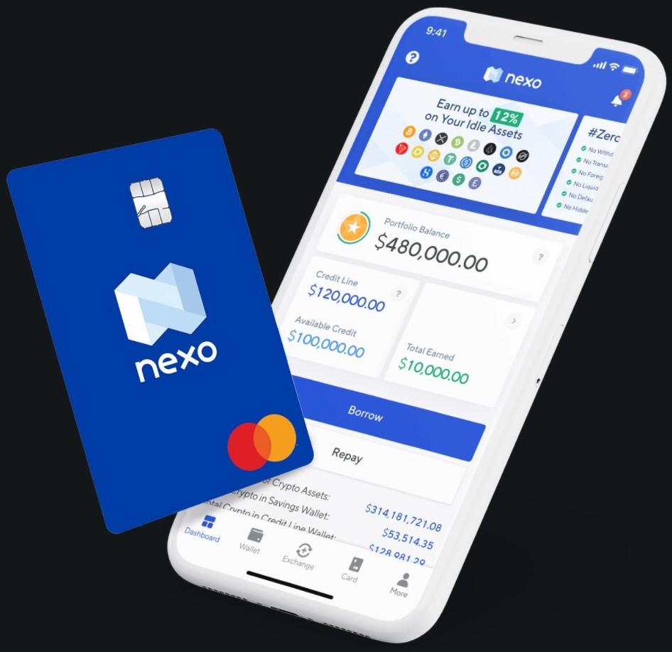 Nexo creditcard mastercard