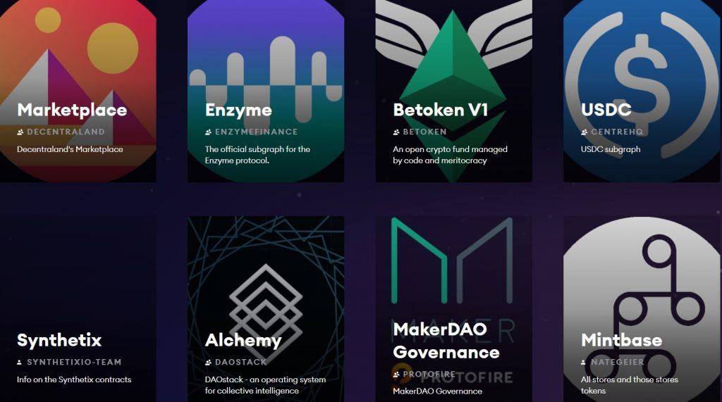 subgraphs van graph blockchain
