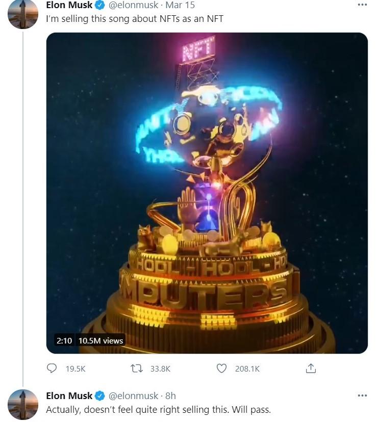 NFT Elon Musk