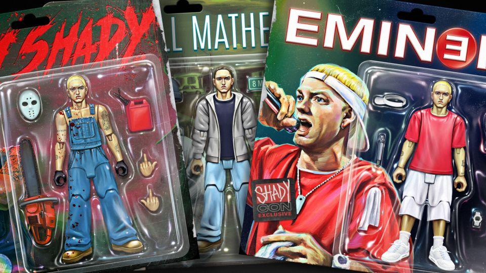 rapper Eminem NFT collectie