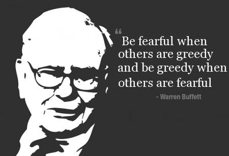 De Crypto fear & greed index heeft betrekking op de beroemde Warren Buffet quote