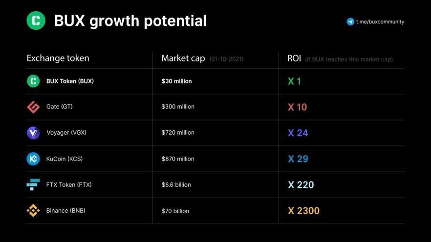 Welke crypto kopen; Bux groei verwachting om te investeren in 2021